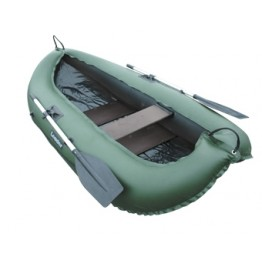 Надувная 1-местная ПВХ лодка Лидер Компакт 240